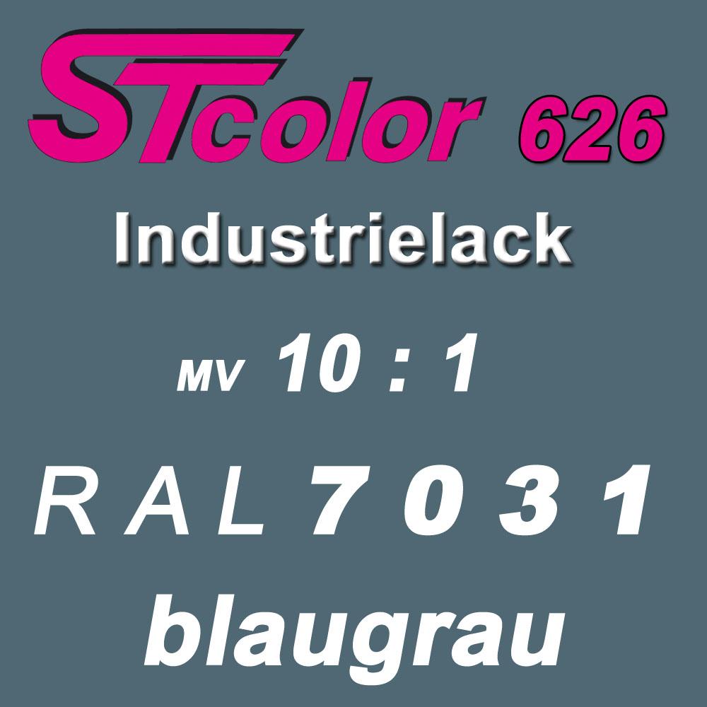 2K PUR Einschichtlack 10:1 ( RAL 7031 Blaugrau )
